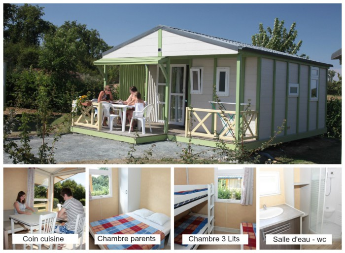 Chalet 45 personnes Les Rulieres Camping Vendee
