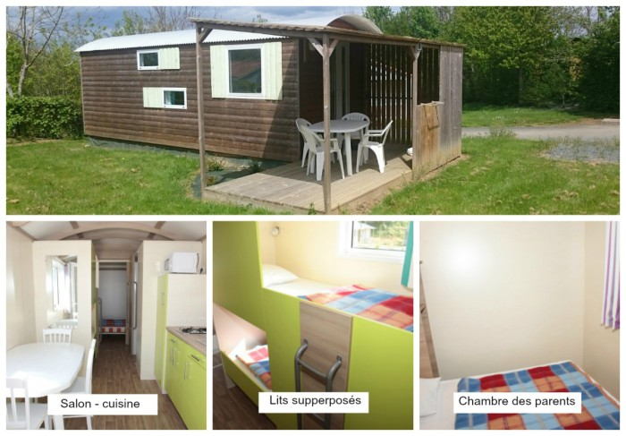 Roulotte Les Rulieres Camping Vendee