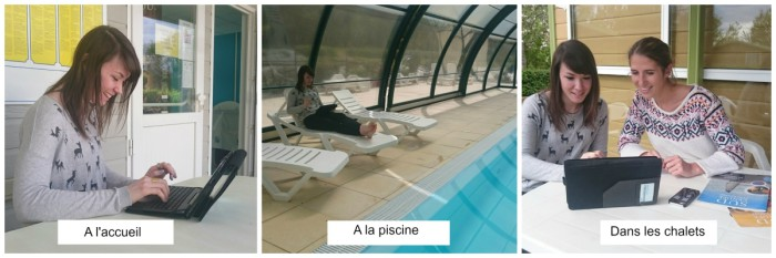 Wifi Les Rulieres Camping Vendee Piscine