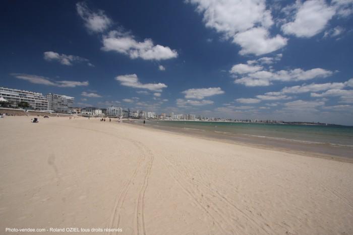grande plage des sables d olonne