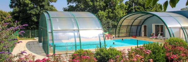 camping avec piscine couverte en vende