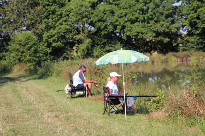 pêche au camping nature situé en Vendée