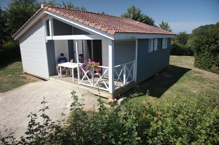 Location de Chalet familial au camping en Vendée