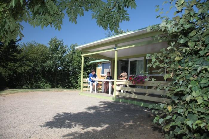 Chalet pas cher en location au camping familial en Vendée