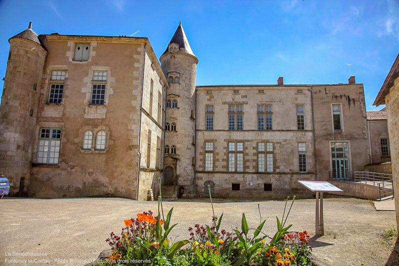 Sa Sénéchaussée de Fontenay le Comte camping ouvert toute l'année