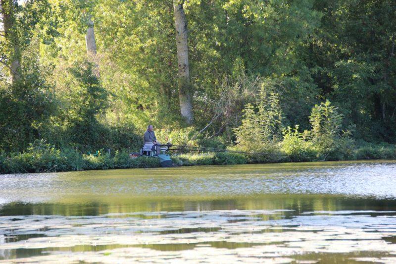 Camping ouvert à l'année pour la pêche