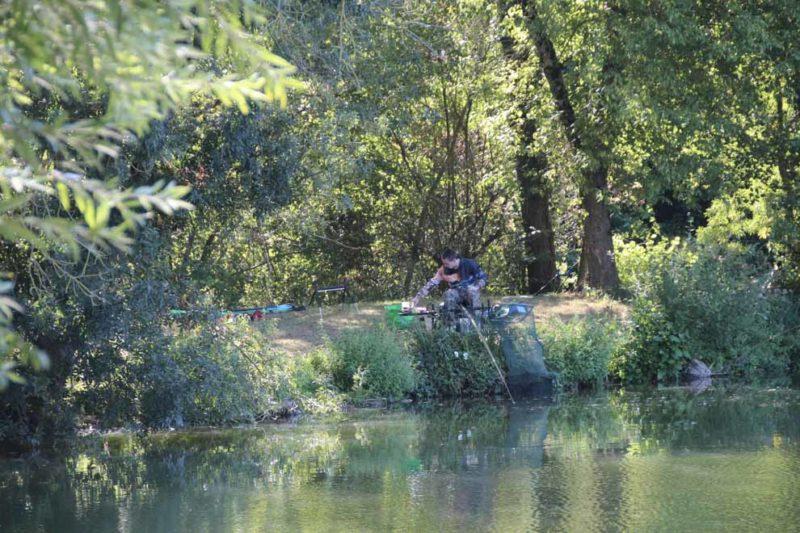 Camping avec pêche nokill sur étang privé