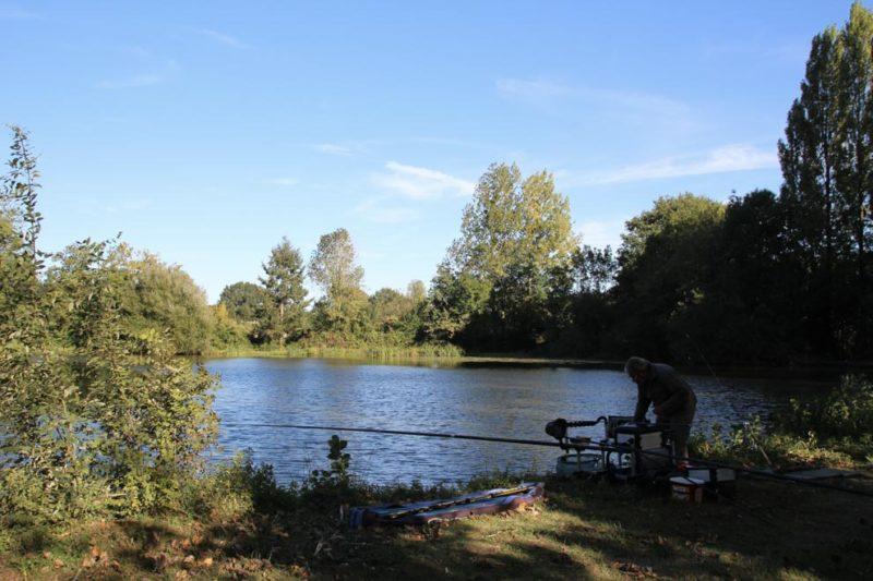 Pêche privée au camping les Rulières pendant vos vacances