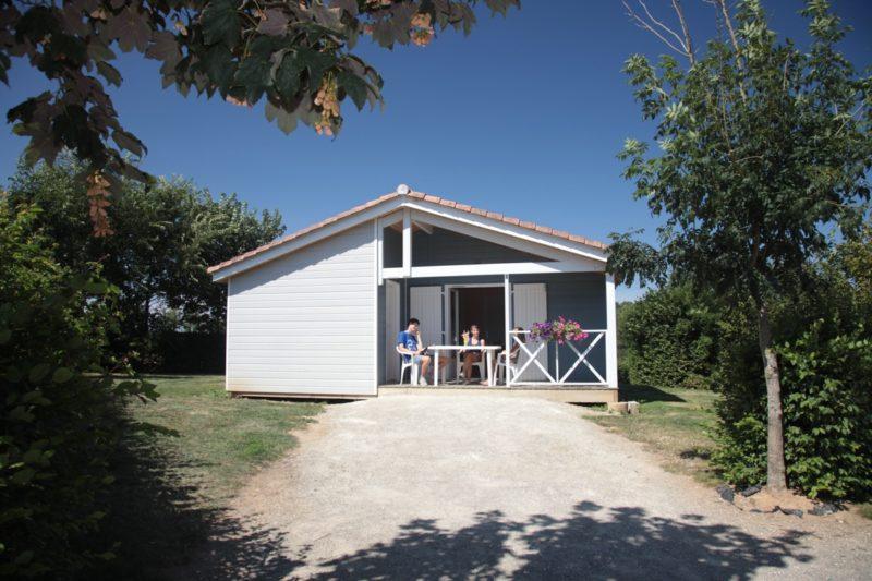 Location de chalet 6 à 7 personnes dans camping ouvert à l'année