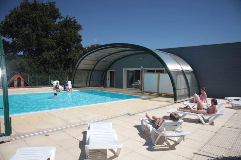 Camping avec piscine couverte chauffée en Vendée